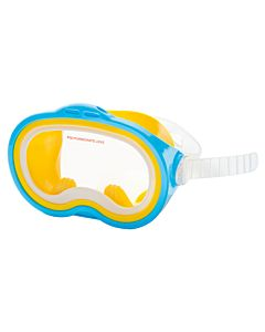 Intex Sea Scan Swim Mask duikbril blauw geel