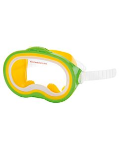 Intex Sea Scan Swim Mask duikbril groen geel