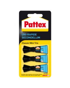 Pattex Classic Mini Trio secondelijm